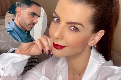 Fotos de Carolina Cruz y Lincoln Palomeque, en nota de qué dijo Cruz sobre su relación con Palomeque.