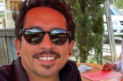 Selfi de Frank Martínez, que ahora trabajará en RCN