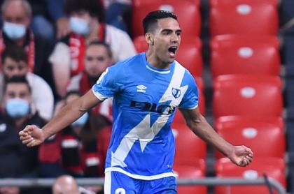 Gol de Falcao García en victoria del Rayo Vallecano 2-1 contra Athletic Bilbao