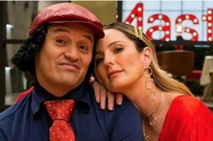 Hassam, comediante de 'Sábados Felices' (Caracol), mostró chat con Claudia Bahamón luego de que sufrió robo en Bogotá.