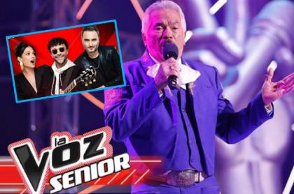 Algemiro Salazar, concursante de 'La voz senior'.