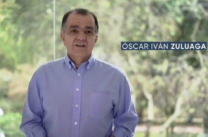 Imagen de Óscar Iván Zuluaga, que propone cambiar coca por marihuana; uribistas critican