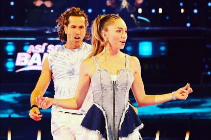 Gregorio Pernía y su hija, Luna, hacen pareja en 'Así se baila', concurso de Telemundo