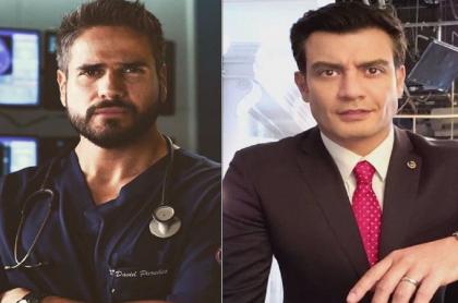Daniel Arenas y Andrés Palacios protagonizan duelo de galanes de Univisión, en Estados Unidos