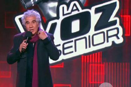 La voz senior: participó Germán Rojas, actor de Pasión de Gavilanes de Caracol