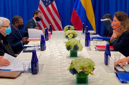Delegaciones de Estados Unidos y Colombia definieron nuevos estándares para la lucha antidrogas.