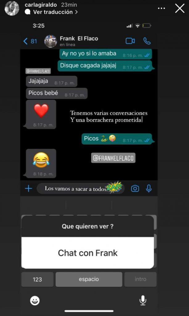 Instagram @carlagiraldo