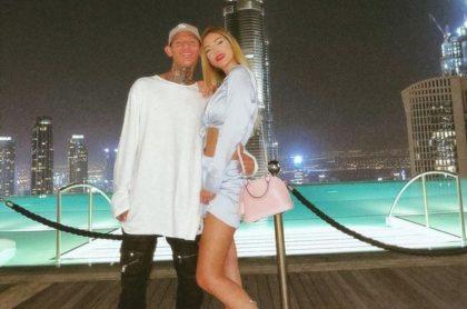 Dani Duke y La Liendra en Dubái, a propósito de que Instagram le volvió a cerrar la cuenta a La Liendra