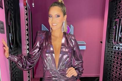 Daniella Álvarez, modelo colombiana.