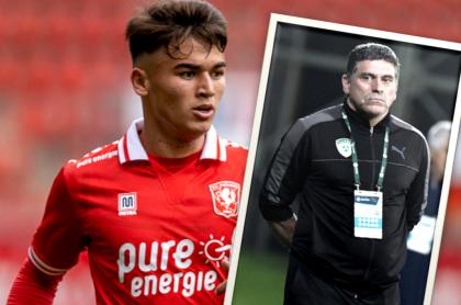 Manfred Ugalde, que juega para el Twente (i), dice que Luis Fernando Suárez lo ningunea.