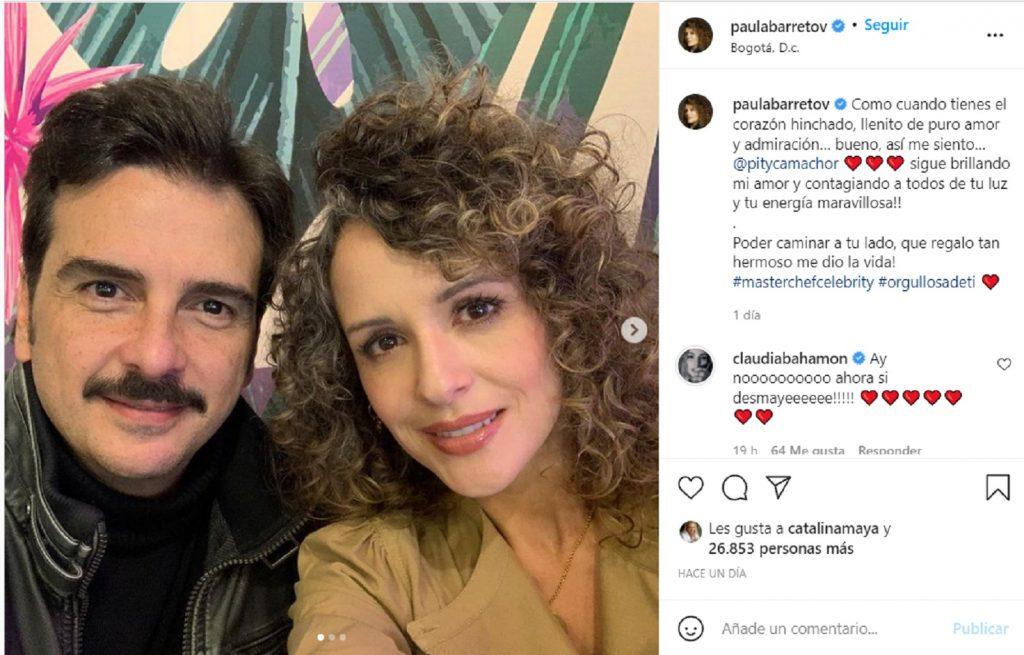 Tomada de Instagram @paulabarretov
