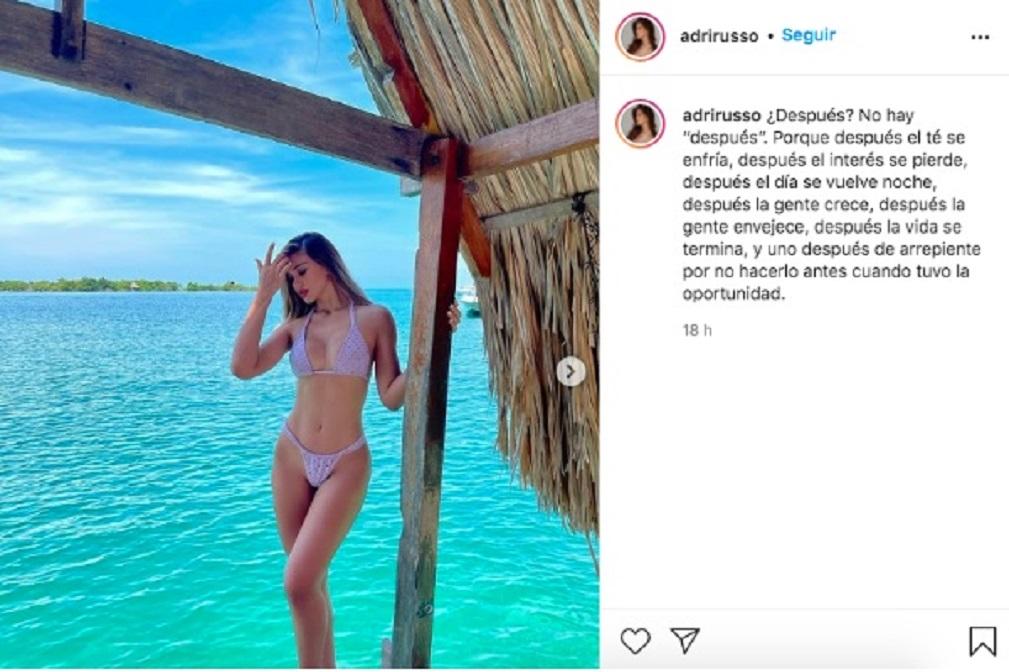 Instagram @adrirusso