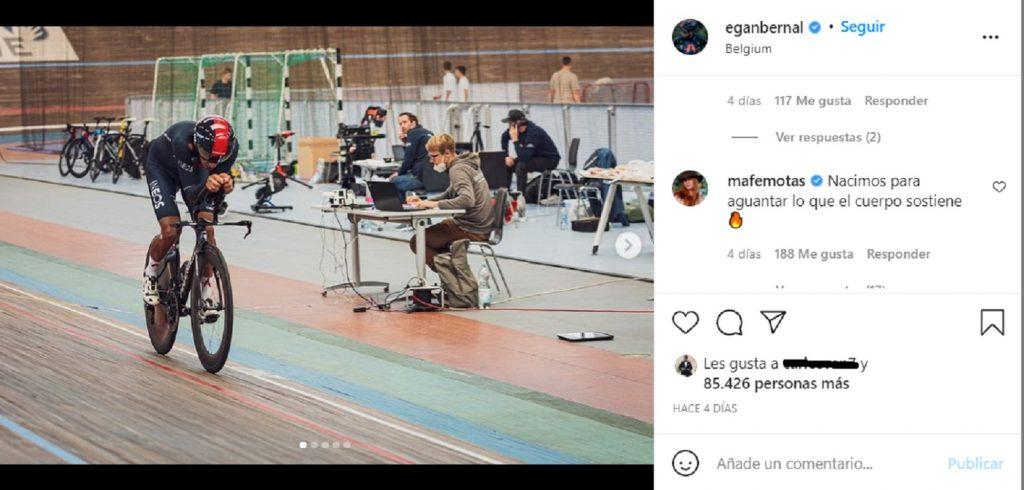Tomada de Instagram @eganbernal