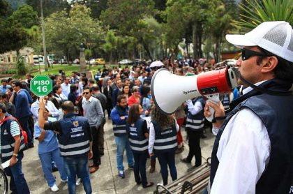 Imagen de simulacro que ilustra nota; ¿A qué hora es el simulacro nacional 2021 en Colombia?