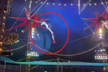 Accidente en el circo de los Hermanos Gasca