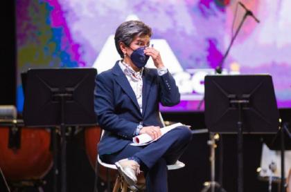 Claudia López no quedó bien parada en la última encuesta 'Bogotá cómo vamos'.