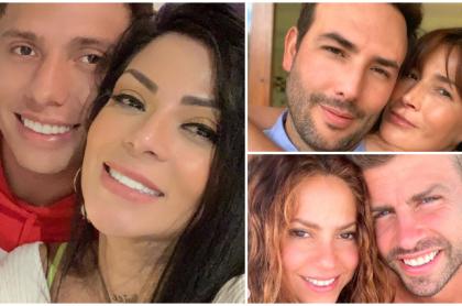 Cuántos años de diferencia hay entre Marbelle y Sebastián Salazar, Shakira y Gerard Piqué y  Kathy Sáenz y Sebastián Martínez.