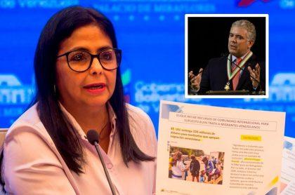 Venezuela muestra documentos contra Colombia por asesinato de migrantes.