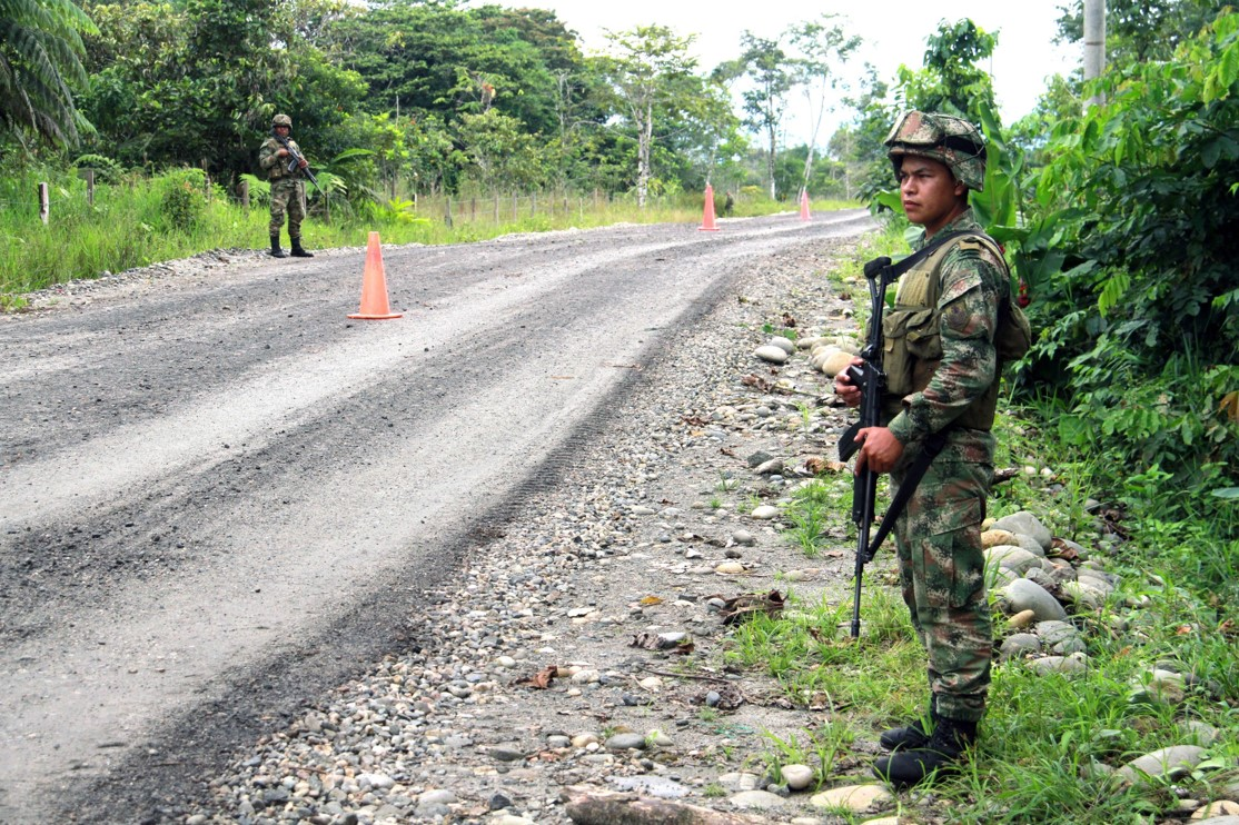Ejército colombiano (Getty)