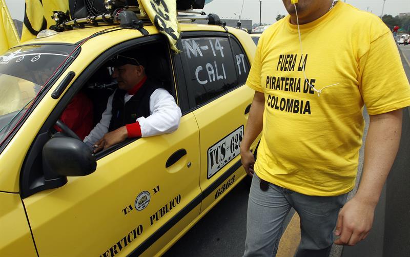 paro taxistas Bogotá
